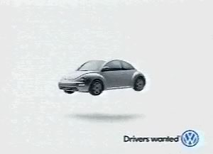 VW Beetle Reverse Engineered from UFOs TV advert