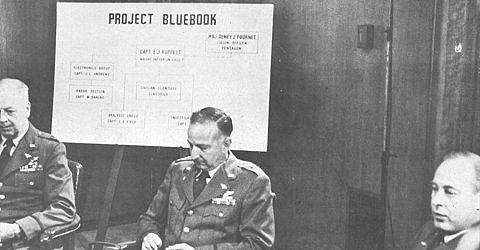 Air Force's Project Blue Book
