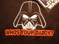 Who's Yer Daddy merch